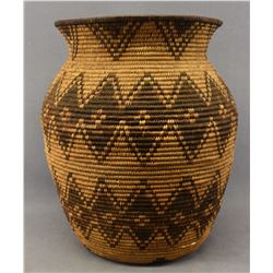 APACHE INDIAN BASKETRY OLLA