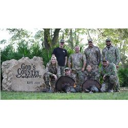 Osceola Turkey & Hogs for 2 Youth with DropZone TV