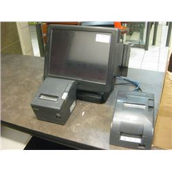 POSIFLEX POS SYSTEM- ALREADY REMOVED FOR PICK UP AT AUCTION