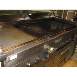 6FT GARLAND FLAT GRILL ELECTRIC- ALREADY REMOVED FOR PICK UP AT AUCTION