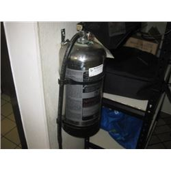 KITCHEN FIRE EXTINGUISHER- ALREADY REMOVED FOR PICK UP AT AUCTION