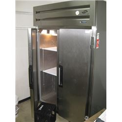 FOGEL 2 DOOR STAINLESS COOLER- ALREADY REMOVED FOR PICK UP AT AUCTION