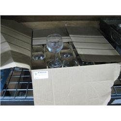 CASE OF 6 1/2 OZ WINE GLASSES