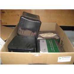BOX OF NAPKIN DISPENSERS