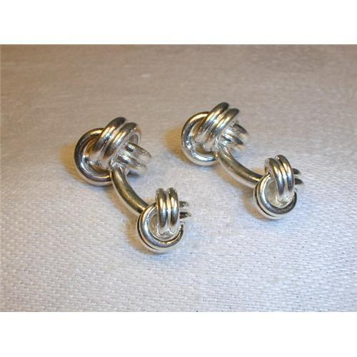 Sterling Silver Tiffany Amp Co Knot Cufflinks 1249997