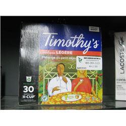 TIMOTHY KEURIG 30 K CUP