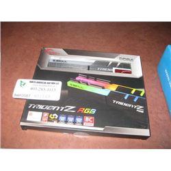 G SKILL DDR4 TRIDENT Z RGB