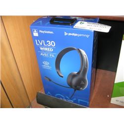PLAYSTATION LVL 30 WIRED CHAT HEADSET
