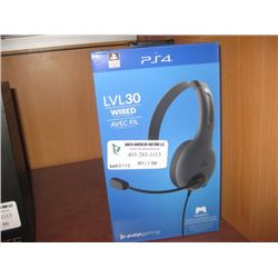 PS4 LVL 4 CHAT HEADSET