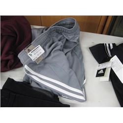 ADIDAS LARGE GREY TRACK PANTS