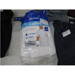 6PK GILDAN T SHIRTS LARGE