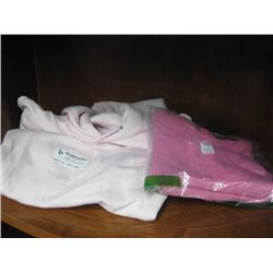 GIRLS SWEATERS LARGE AND PINK T-SHIRT