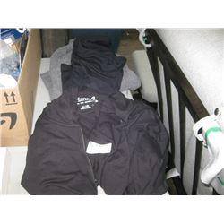 DANSKIN XL SHORTS / XL BLACK CAPRIS / HANES XL HOODIE