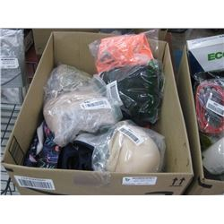 BOX OF BATHING SUITS AND UNDERGARMENTS