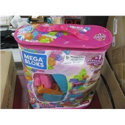 MEGA BLOKS BUILDING BAG
