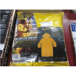 CLIMATE GEAR WEATHER RESISTANT WORK GEAR SIZE MEDIUM