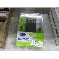 PREMIUM POCKET RADIO DT-200X AUDIO DIGITAL TUNING PERSONAL RECEIVER