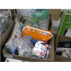 BOX OF BABY ITEMS