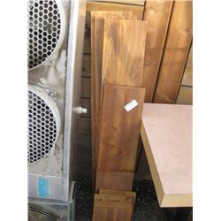 ASSORTED WOOD BOARDS