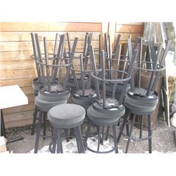 19PC SWIVEL BAR STOOL (TWO HEIGHTS)