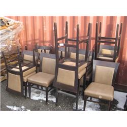 10 CHAIRS / 4 STOOLS ADRIA WORN