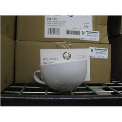 6PC WHCB401 WHITE CAPPUCCINO CUP 14OZ CHURCHILL