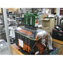 COUNTER TOP REFRIGERATED JAGERMEISTER COLD SHOT MACHINE