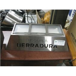 TEQUILA HERRADURA LIGHT UP SIGN