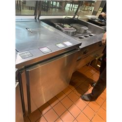 30 INCH REFRIGERATED PREP TABLE WITH SNEEZE GUARD REMOTE COMPRESSOR INCLUDED