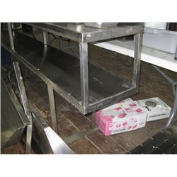 8FT STAINLESS OVERSHELF - SHOWN UPSIDE TOWN