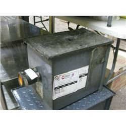 SMALL USED GREASE TRAP