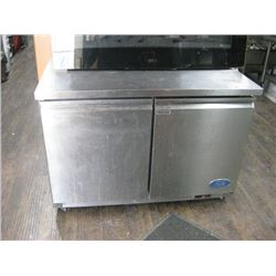 4 FT UNDER COUNTER ICB STAINLESS FREEZER