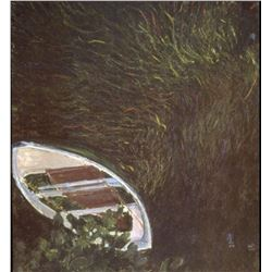 Claude Monet - The Boat