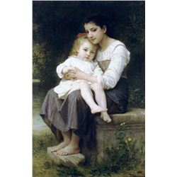 William Bouguereau - Big Sis