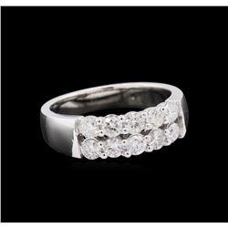 0.88 ctw Diamond Ring - 14KT White Gold