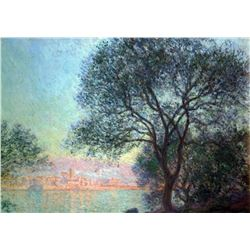 Claude Monet - Antibes Seen from La Salis