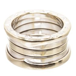 Bvlgari 18K White Gold B.zero1 Triple Ring 48