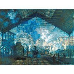 Claude Monet - The Station Saint-Lazare