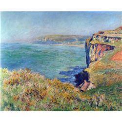 Claude Monet - Cliffs at Varengeville