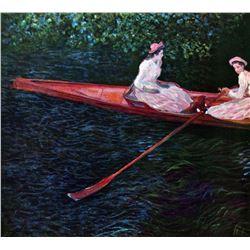 Claude Monet - River Epte