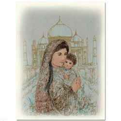 Majesty at the Taj Mahal by Hibel (1917-2014)