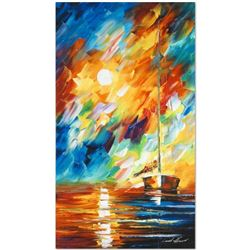 Rainbow Sky by Afremov (1955-2019)