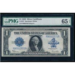 1923 $1 Silver Certificate PMG 65EPQ