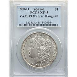 1880-O $1 Morgan Silver Dollar Coin PCGS XF45 VAM 49