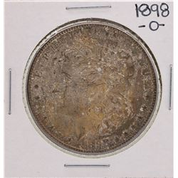 1898-O $1 Morgan Silver Dollar Coin Amazing Toning