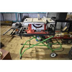 FT.MAC: SKILSAW 10 INCH TABLE SAW & STAND, MODEL#