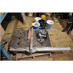 FT.MAC: RIDGID 10 INCH TABLE SAW, MODEL TS3650