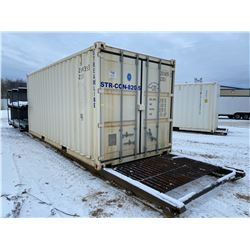 FT.MAC: 8FT x 20FT SKIDDED CONTAINER, COMES WITH