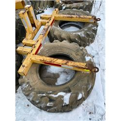 FT.MAC: TIRE DRAG - FOR SNOW-CAT