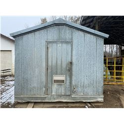 STURG.CNTY: BRYTEX METAL SMOKE HOUSE, 12FT X 18FT